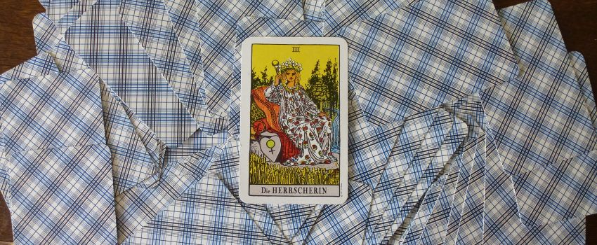 Sei selbstbewusst – Die Herrscherin im Tarot